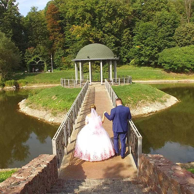 квадрокоптер на свадьбу